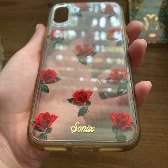 Sonix Red Rose iPhone XS phone case